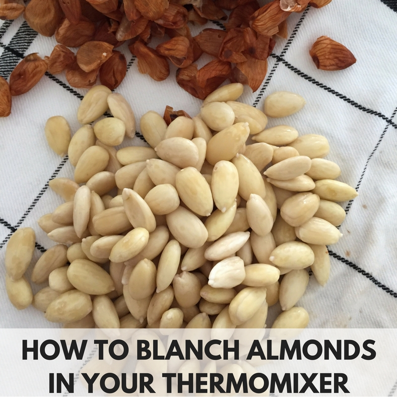 How To Blanch Almonds In Your Thermomix | FAYI